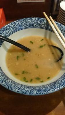 軟骨チャーシュー麺完食